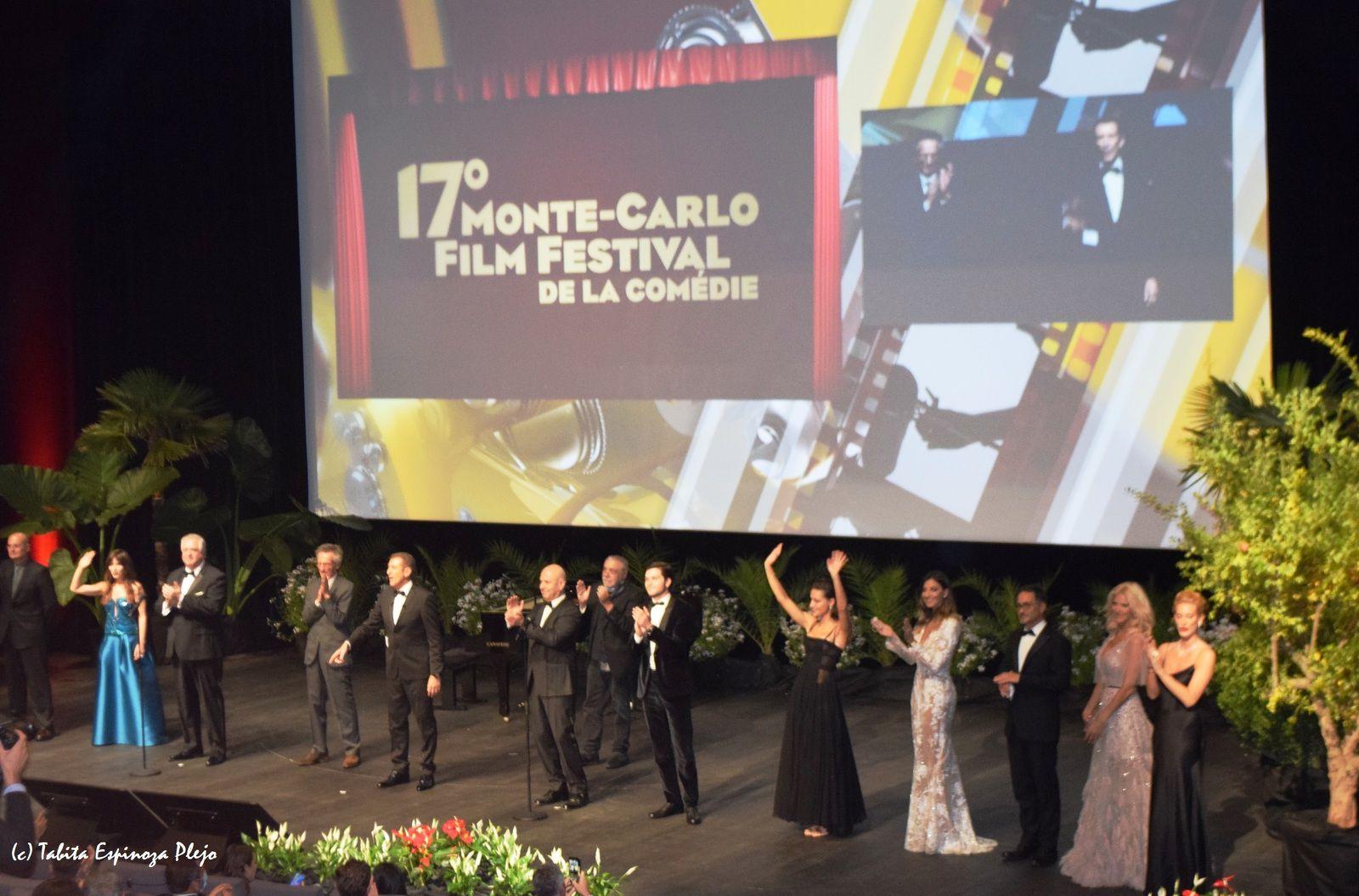 17e MONTE-CARLO FILM FESTIVAL DE LA COMEDIE : PATRICE LECONTE RECOMPENSE PAR SA CARRIERE