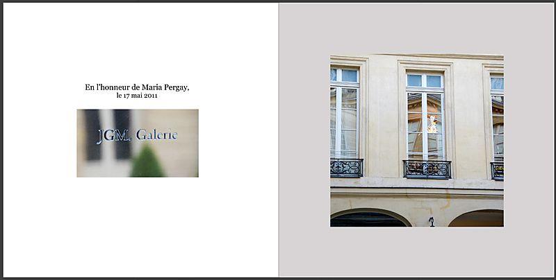 En l'honneur de Maria Pergay, à la galerie JGM/ Paris le 17 Mai