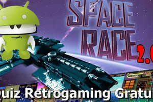 Space Race 2.0 sur Android (Quiz Retrogaming Gratuit)
