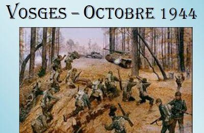 La Bataille de Bruyères - Vosges Octobre 1944 par Pierre Moulin