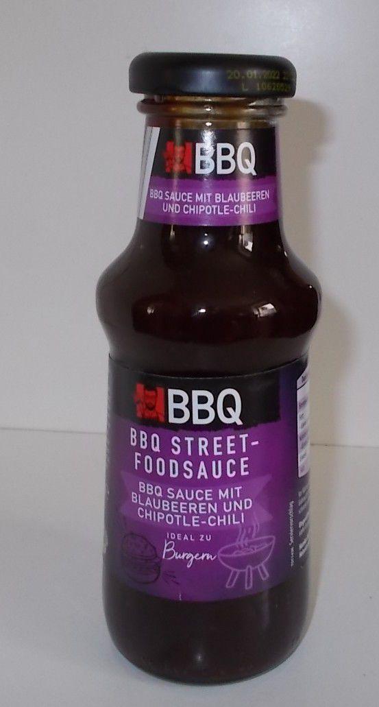 Aldi BBQ Street-Foodsauce BBQ Sauce mit Blaubeeren