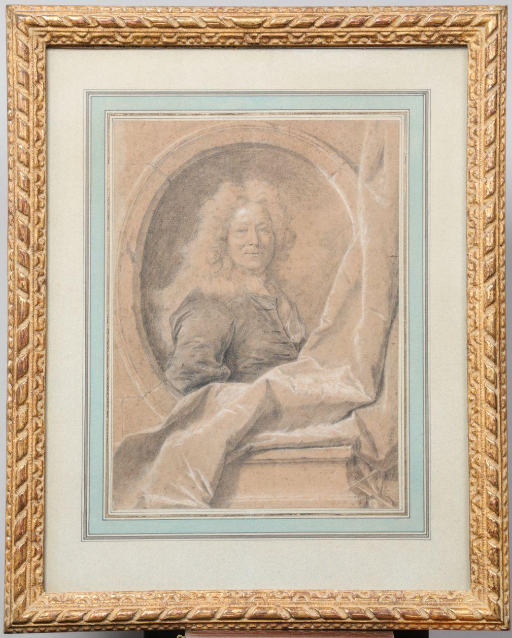Hyacinthe Rigaud, portrait de François Girardon, sculpteur, v. 1707. Collection particulière © d.r