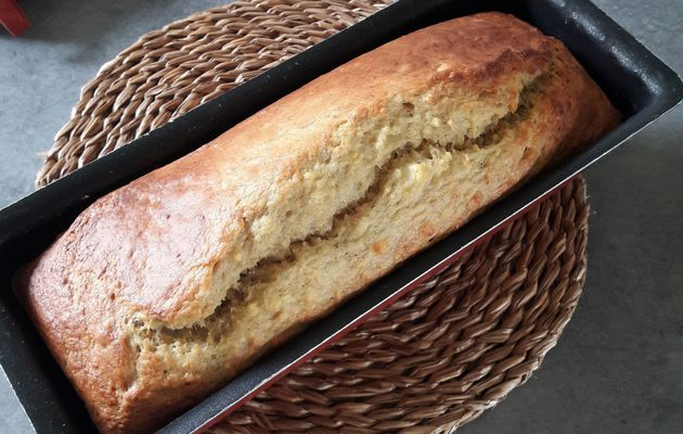 ... le banana bread sans sucre blanc ajouté, idéal petit-déjeuner