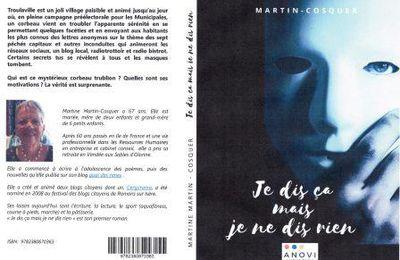 """Dédicace de mon roman : """"Je dis ça mais je ne dis rien"""""""