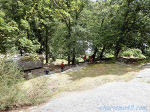 Huelgoat, Bretagne en camping-car