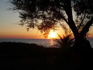Lever de soleil sur l'Ile de Beauté