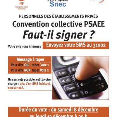 PSAEE - Donnez votre avis pas SMS -