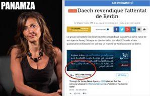 Berlin : La « revendication » de Daech a été « révélée » par l'israélo-américaine Rita Katz