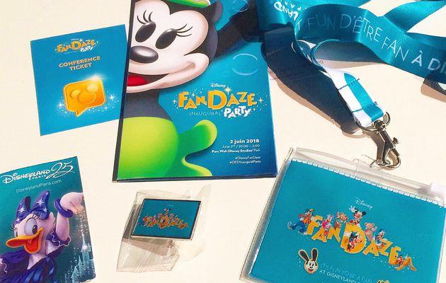 FanDaze Inaugural Party à Disneyland Paris
