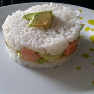 Le Sushi Cake