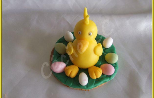 Idées décoration pour cupcakes ou biscuits de Pâques....