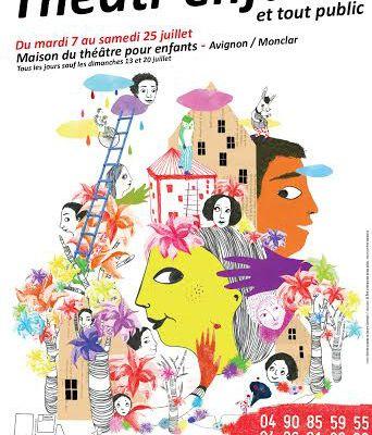 Article dans Le Monde - Théâtr'enfants Juillet 2015