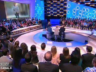 """Grand moment de solitude pour Nicolas Sarkozy au """"Grand Journal"""" de Canal +"""