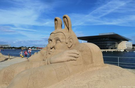 Copenhague, sculptures de sable : Festival International 2012