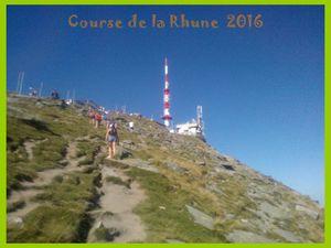 La Course de la Rhune 2016 à Ascain.
