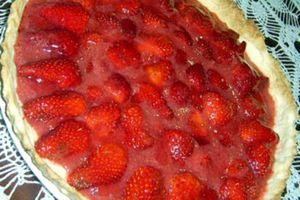 tarte rouge tout fraise