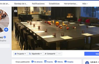 Conseguida insignia azul de página verificada en Facebook