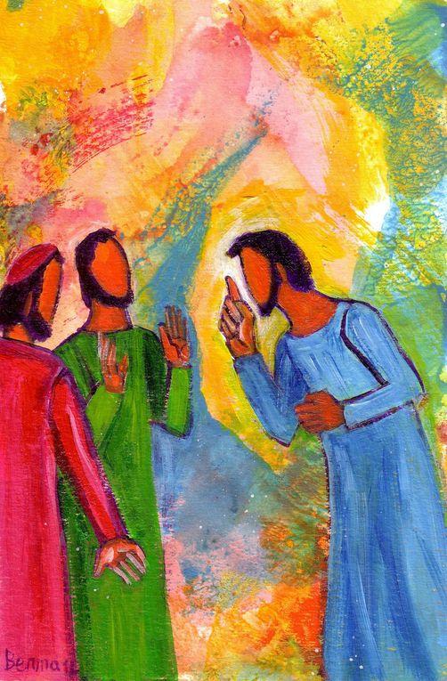Deux parmi les disciples les plus proches de Jésus, Jacques et Jean, n'ont toujours pas compris leur Maître.