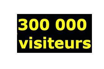 6 ANS ET 300 000 VISITEURS !