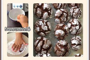 Craquelés chocolats - THERMOMIX