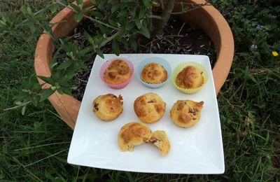 muffins tomates séchées et parmesan