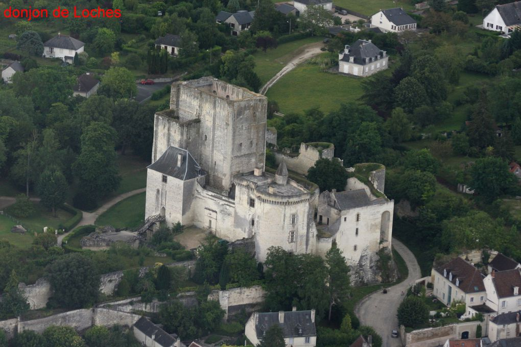 chateaux de la Loire en hélicoptère