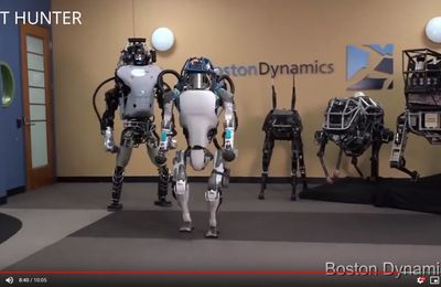 La Super évolution des Robots de Boston Dynamics en 10 minutes videos