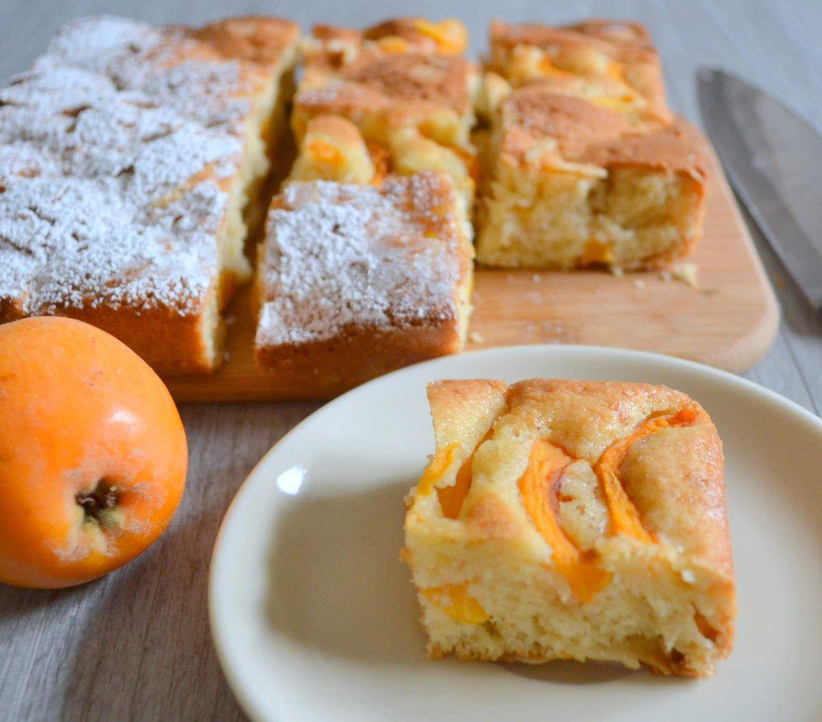 Gâteau Amandes-Nèfles