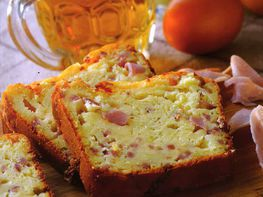 Cake jambon moutarde à l'ancinne