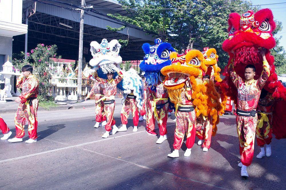 Udonthani: Parade chinoise du 5 décembre 2020 (1ere partie)
