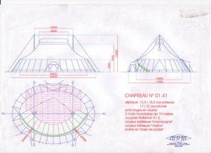 Ensemble chapiteau-plancher-gradins à vendre / Envoyé par Jean-Baptiste Nicollele 03.10.19