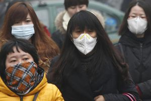 Déjà,en 2014, des pénuries de masques dues à la Pollution de l 'Air!