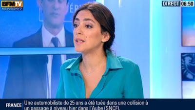 2013 01 22 - ANNA CABANA - BFM TV - PREMIERE EDITION 'POLITIQUE PREMIERE' @06H55
