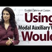Using the auxiliary verb Would - English Grammar lesson ( 3) - INGLESE SENZA SFORZO