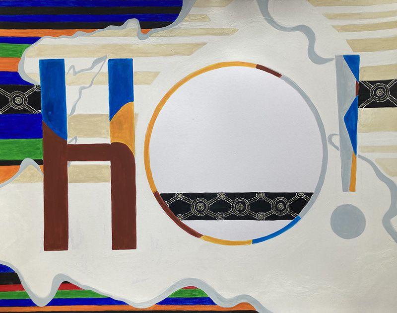 Nanou Casas - Etape n°9 de la 9e peinture en 9 mois - 6 phases de réalisation