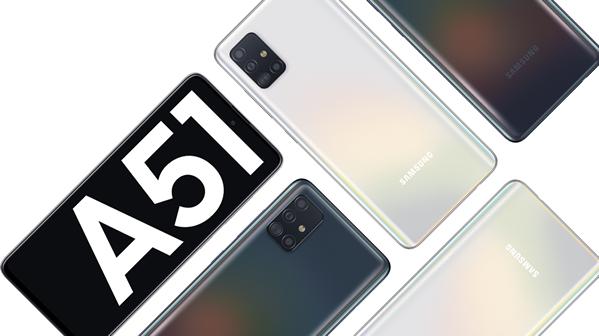 Le Galaxy A51… Le premier smartphone 2020 de Samsung