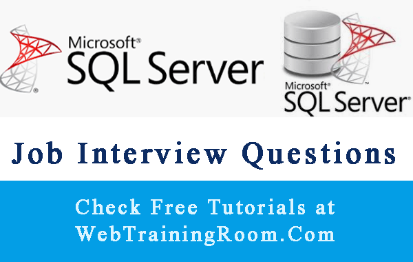sql interview questions answers