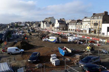 Saint-Brieuc : Une ville en travaux