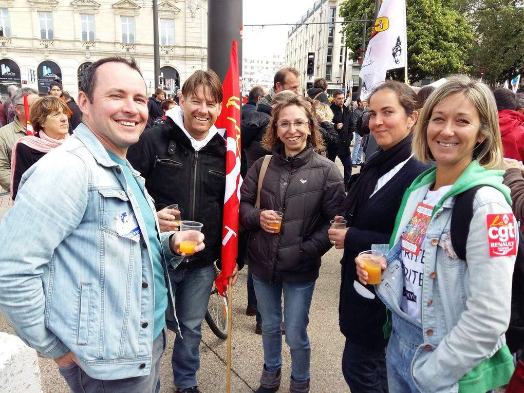 Rassemblement Manif 1er mai 2017 : barrage au FN