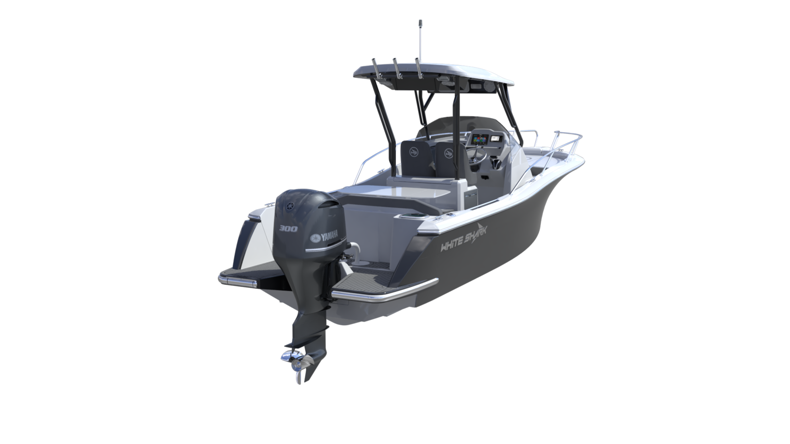 La marque White Shark annonce le lancement du 240 EVO en version Sport Cabin