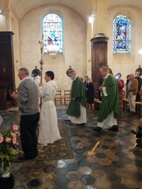Messe d'instalation Pére Michel