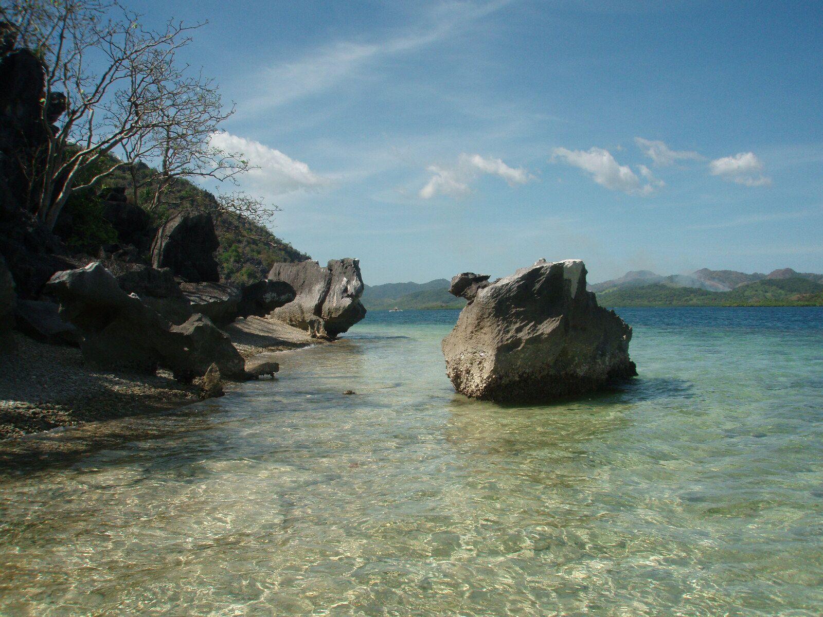 Plage paradisiaque, Philippines