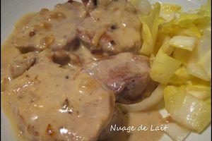 Filet Mignon au Maroilles (recette ProPoint Weight-Watchers)