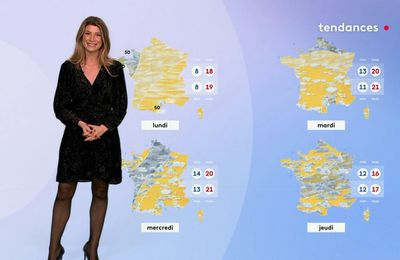 Chloé Nabédian 15/10/2021 Journaux météo du midi