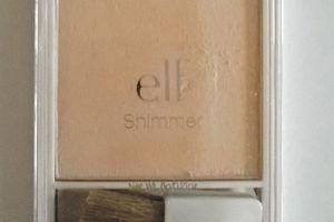 ELF, highlighter blush