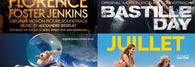 L'actu des musiques au ciné le 13/07/2016