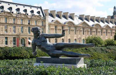 L'Air, sculpture de Maillol au jardin des Tuileries