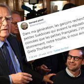 Accusé de sexisme pour ce tweet sur Greta Thunberg, Bernard Pivot assume