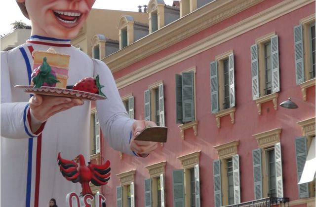 C'était Mardi Gras au Carnaval de Nice !