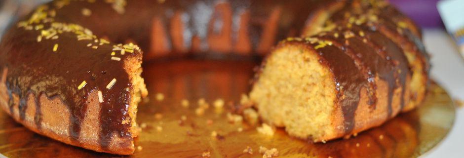 When less is more: my simple orange cake - Gâteau à l'orange : recette adaptée.